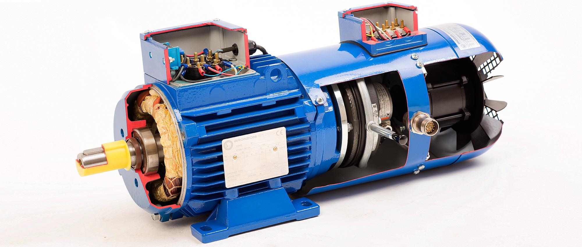 Motori elettrici asincroni speciali bronzoni for Motori elettrici per macchine da cucire