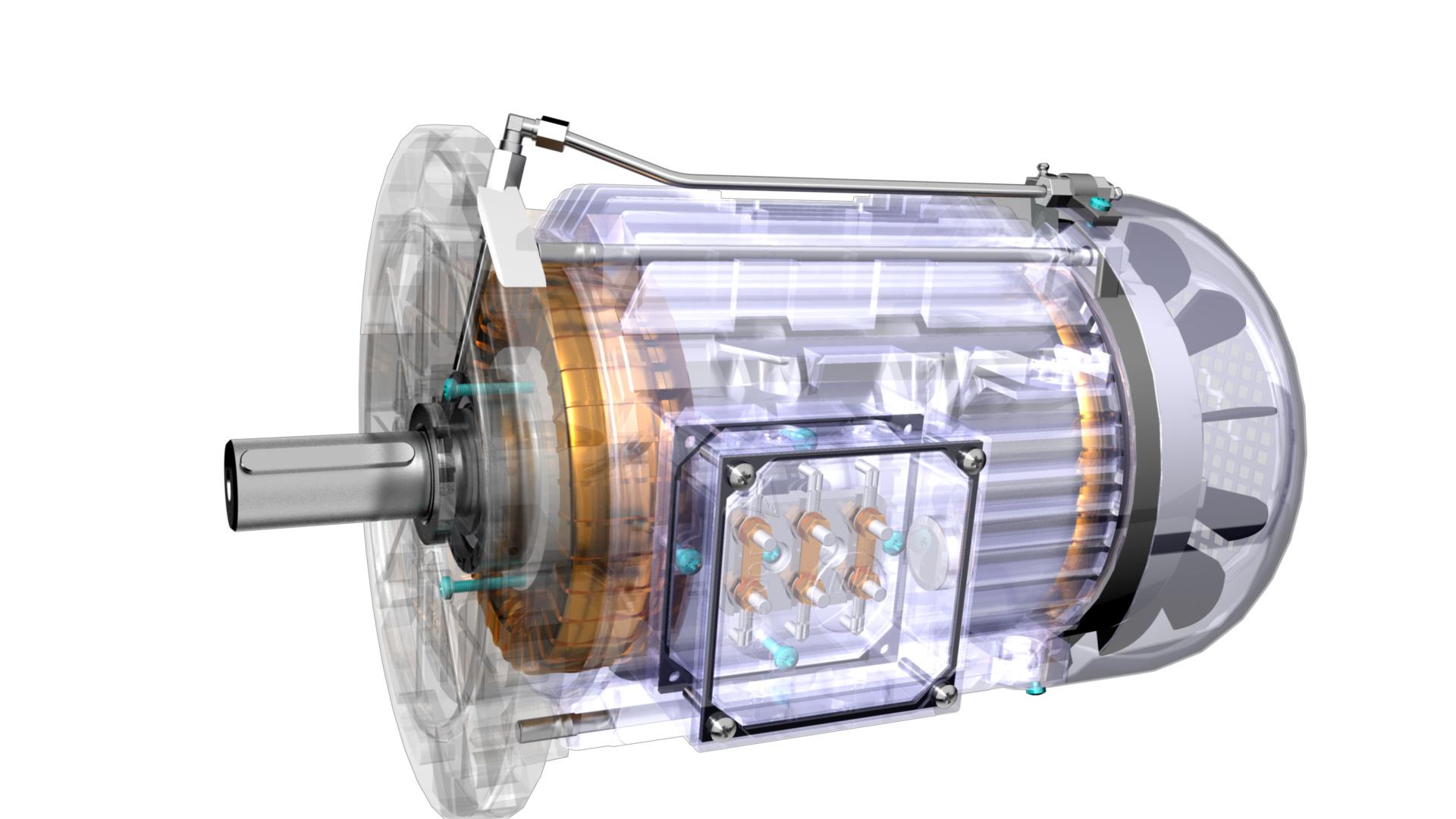 Schemi Elettrici Motore Asincrono Trifase : Motori elettrici asincroni speciali bronzoni