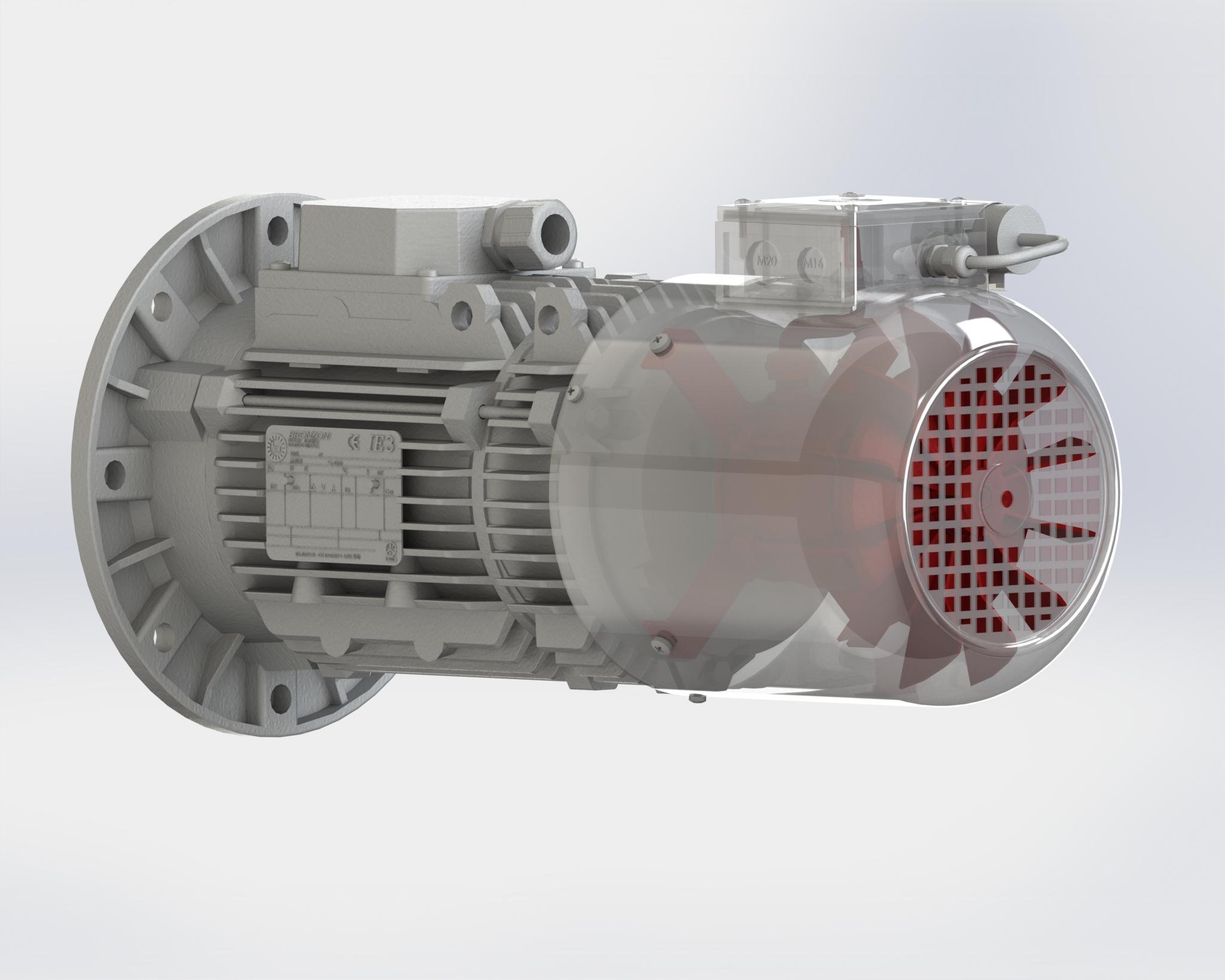 motore servoventilato
