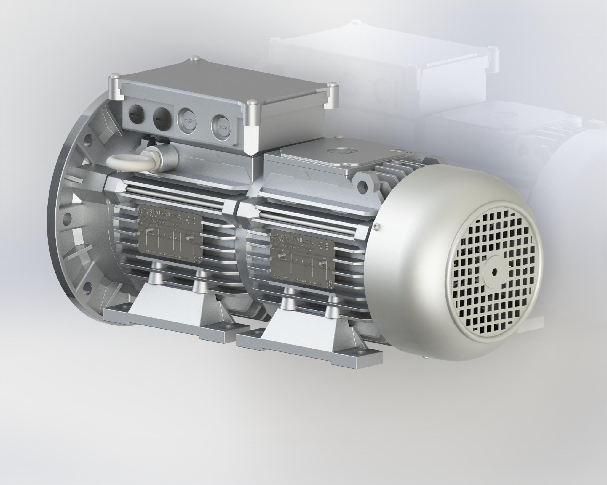 Motore 3/4 velocità