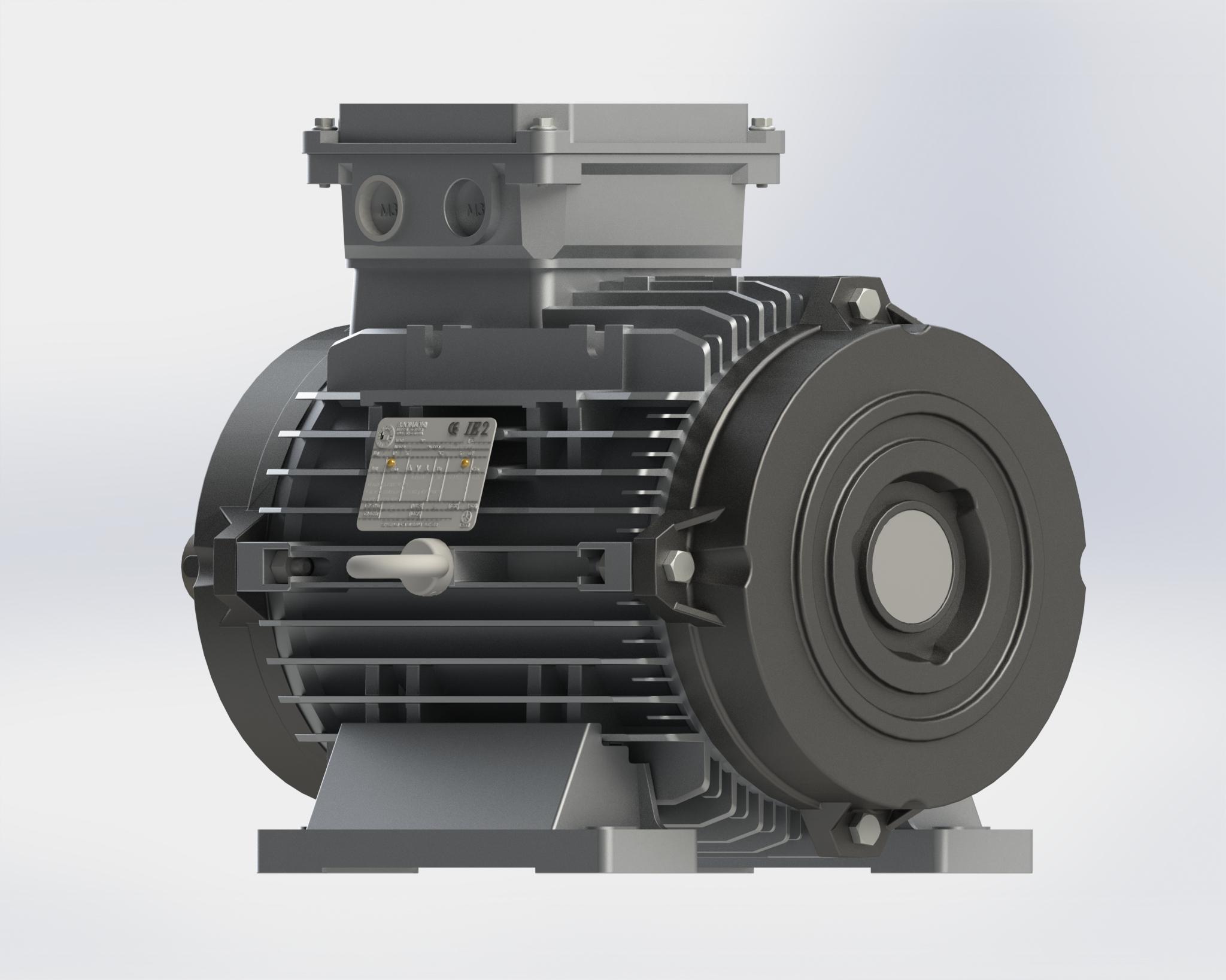 Motore per ambienti freddi