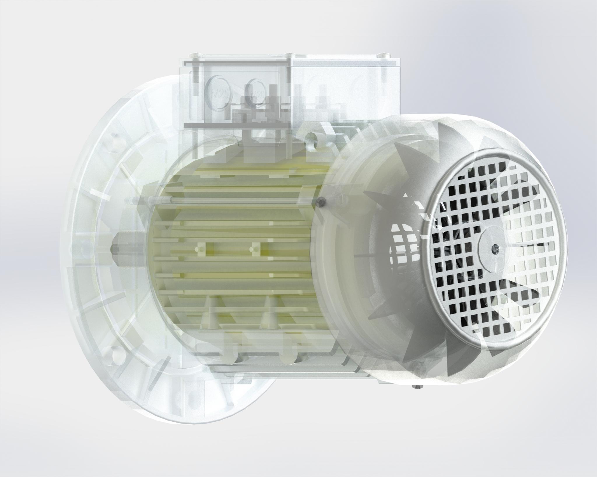 Motore ad uso inverter