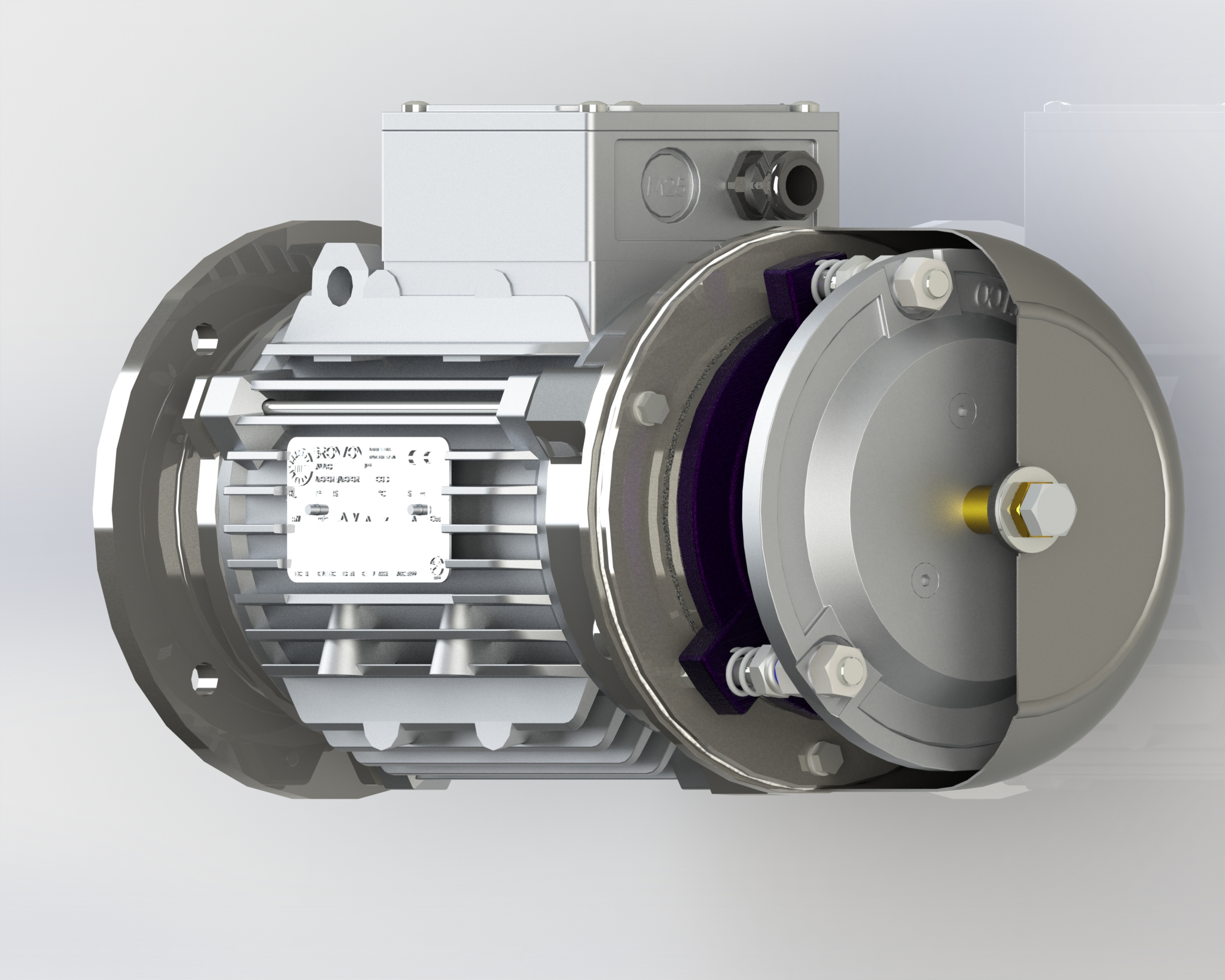 Motore per frenate gravose